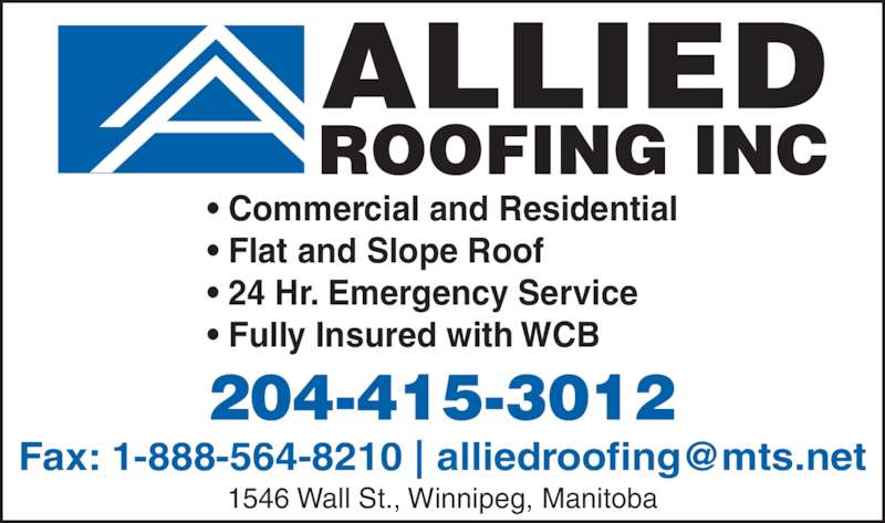 Allied Roofing   Ads Sc 1 St Canpages.ca