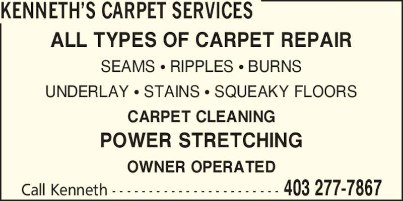 Kenneth's Carpet Services