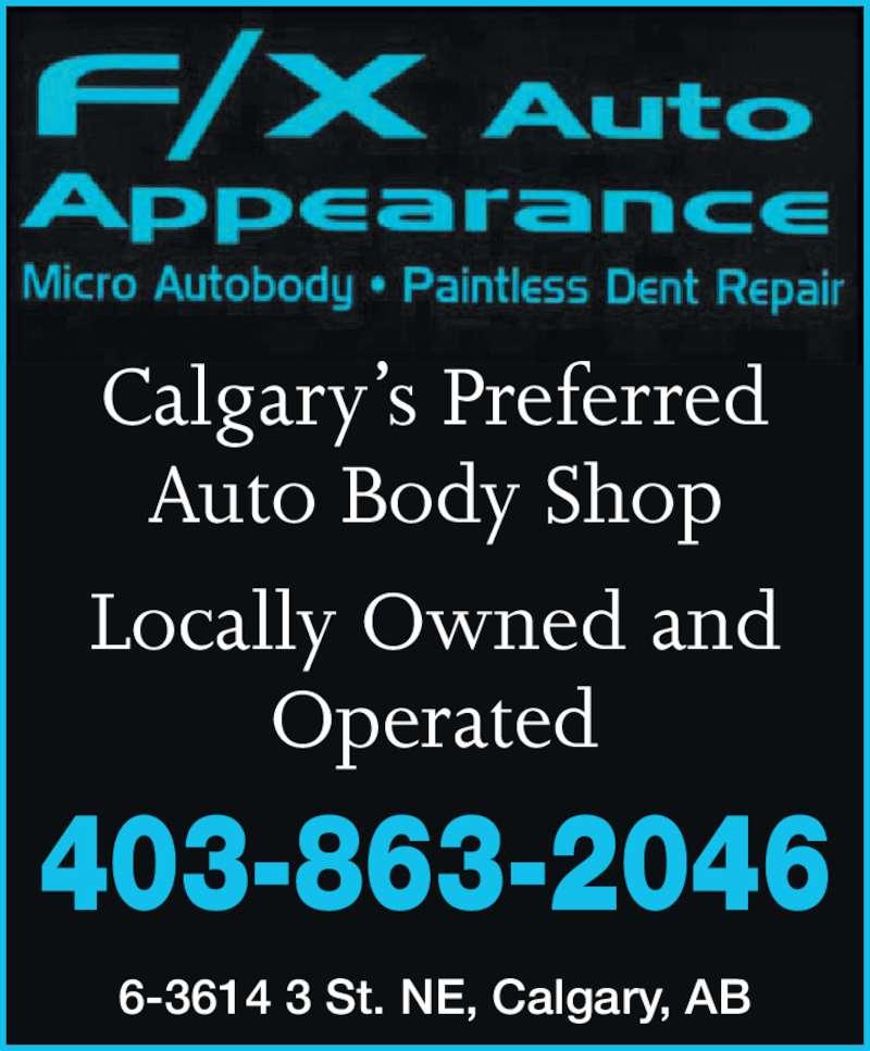 ad F/X Auto Appearance Ltd.