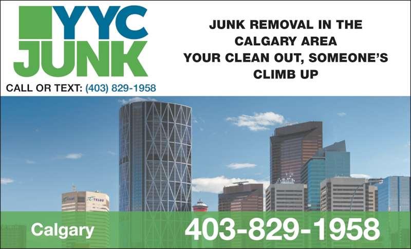 ad YYC Junk