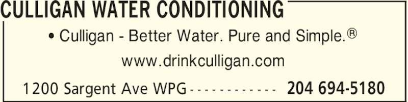 Culligan Water Winnipeg 3