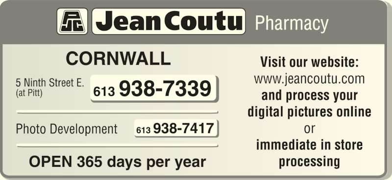 Jean Coutu Paul Trottier (Affiliated Pharmacy) (6139387339) - Display Ad -