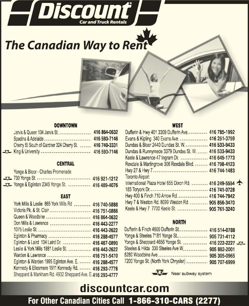 Car Rental Toronto Discount Code