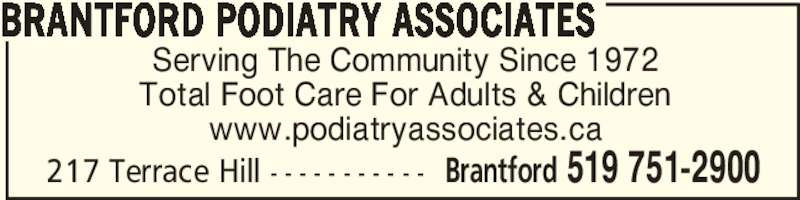brantford podiatry associates brantford on 122 217
