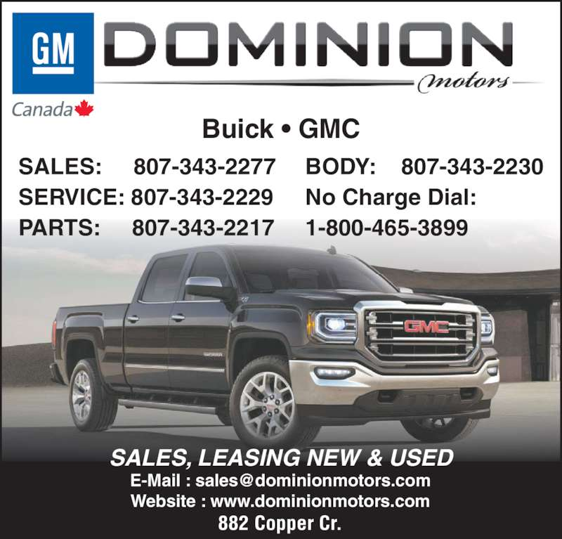 dominion motors The leading manufacturer of motors in canada is threatened by a loss of market share in oilfield pumping motors because a major customer, having test.