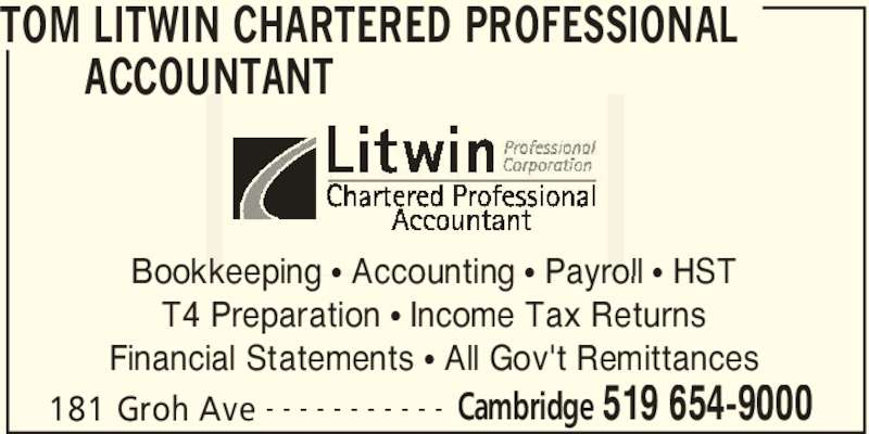 chartered accountant in montreal For immediate release august 30, 2011 - calgary, ab - the montreal-based practice of william epstein, chartered accountants, will merge with mnp llp, one of largest chartered accountancy and business consulting firms in canada, effective october 1, 2011.