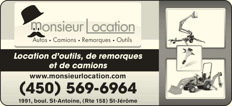 monsieur location saint j r me qc 1991 boul saint. Black Bedroom Furniture Sets. Home Design Ideas