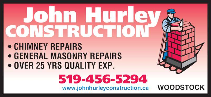 Hurley John Construction Woodstock On Rr 1 Lcd Main