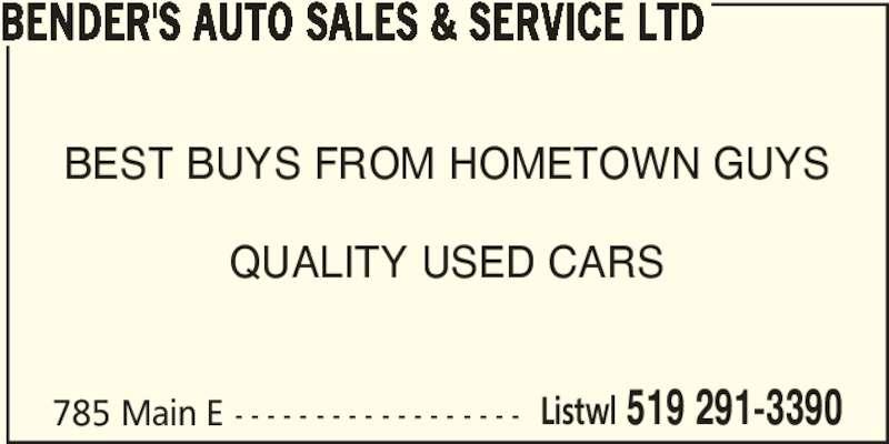 Elmira Ontario Used Cars