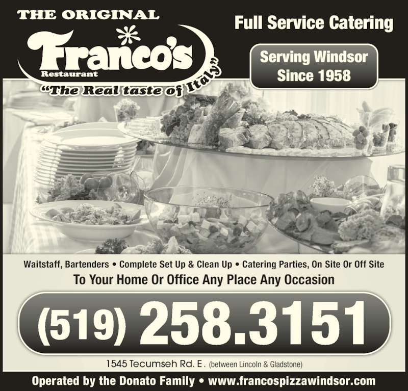 Franco S Restaurant Windsor