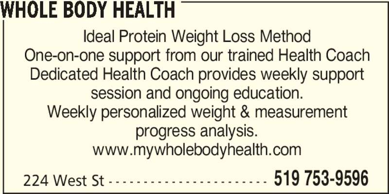 review ideal protein weight loss method