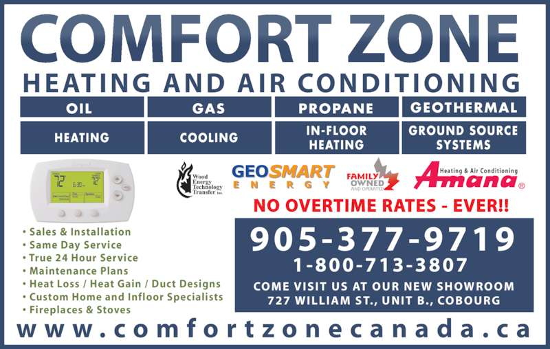 Comfort Zone Heating Amp Air Conditioning