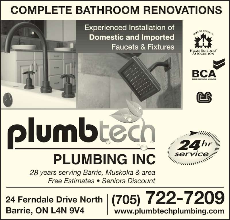 Saskatoon Bathroom Renovations: Plumbtech Plumbing Inc