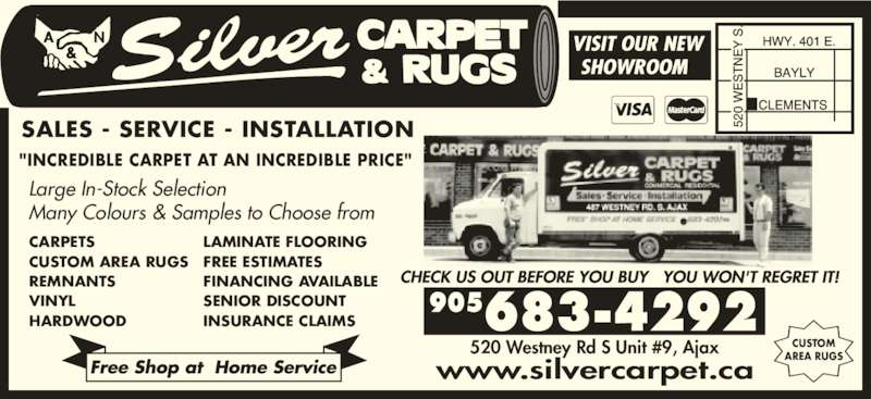 Silver Carpet Ajax ON 9 520 Westney Rd S Canpages