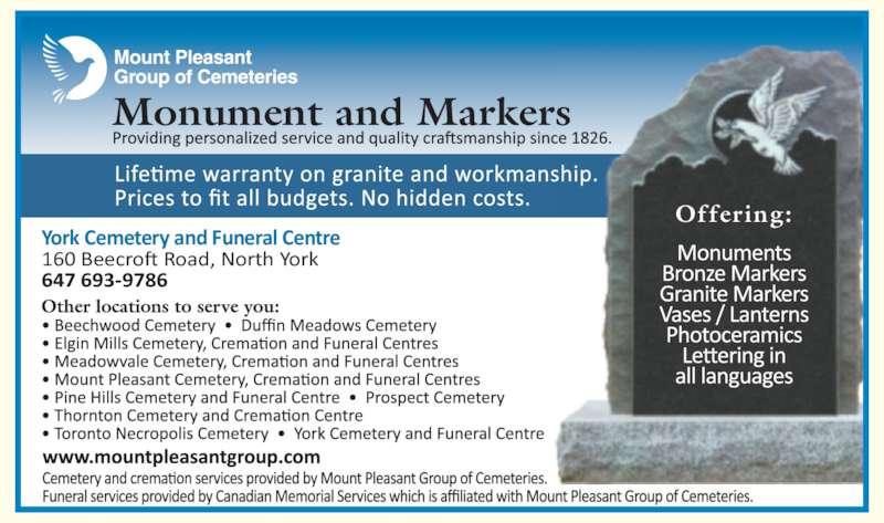 ad York Cemetery & Visitation Centre
