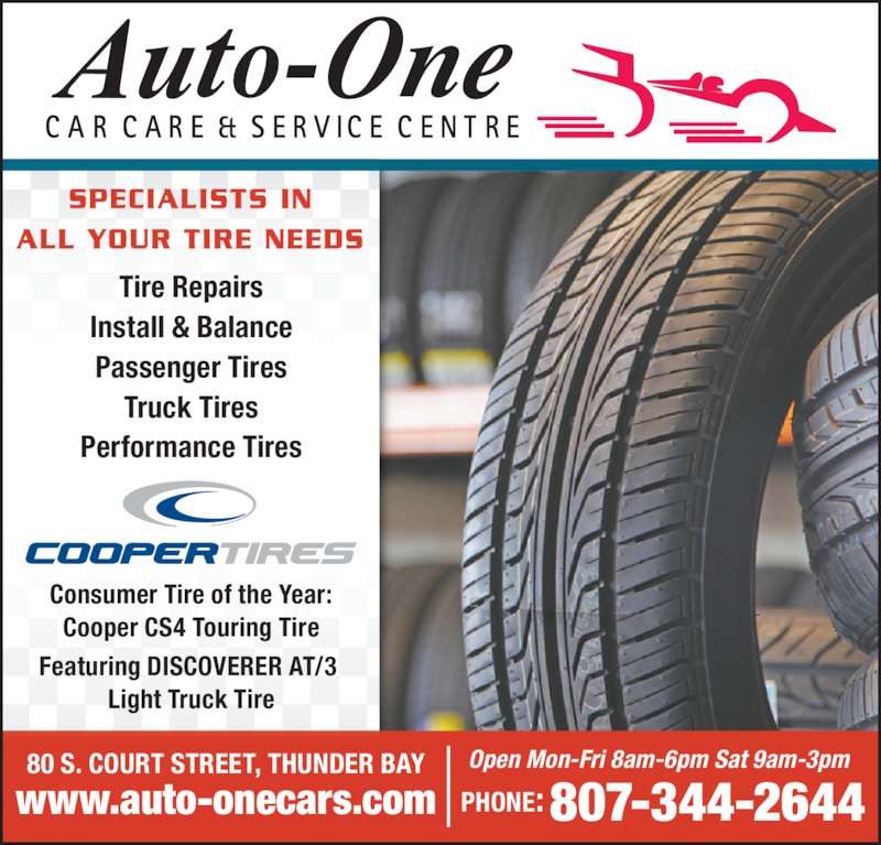 Auto One Car Care Service Thunder Bay On 80 Court St S Canpages