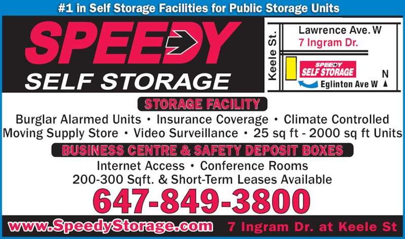 Ads Speedy Self Storage Inc