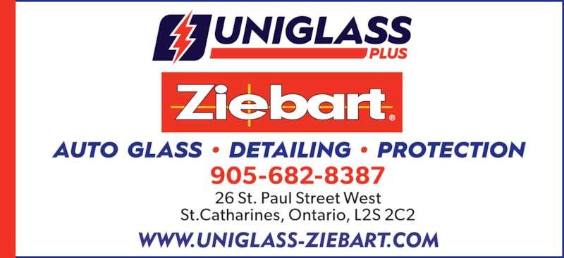 Uniglassplus - Ziebart (905-682-8387) - Display Ad -