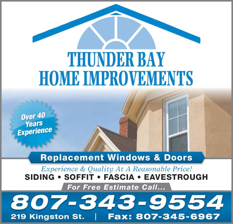 Thunder Bay Home Improvements Thunder Bay On 219