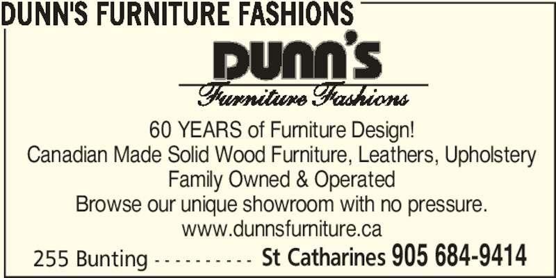 ad Dunn's Bestway Furniture
