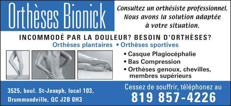 ad Orthèses Bionick