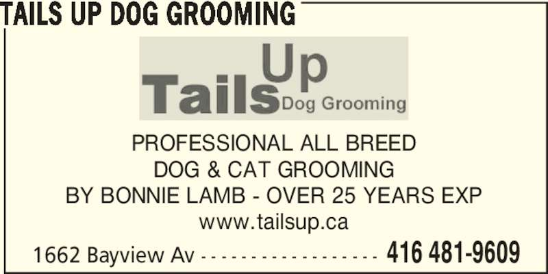 ad Tails Up Dog Grooming