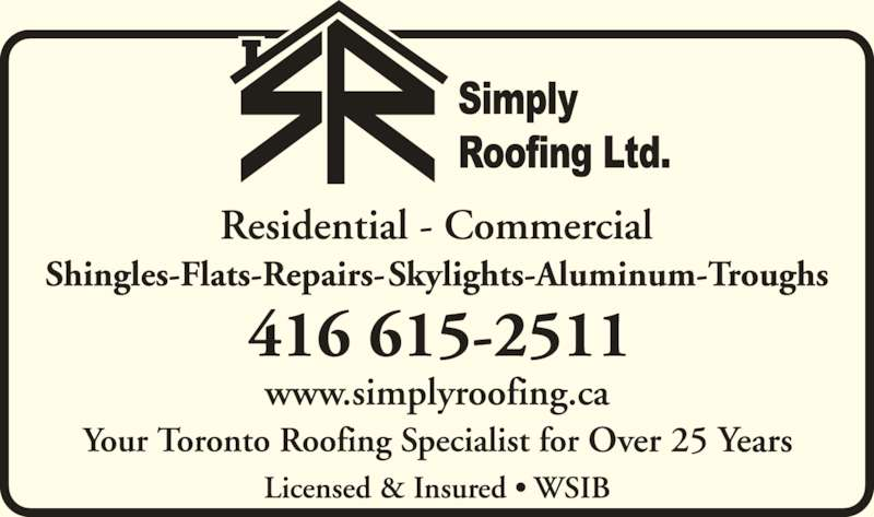 Ads Simply Roofing Ltd