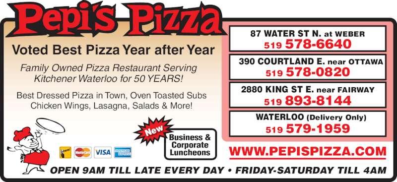 Pepi's Pizza (519-578-6640) - Display Ad -