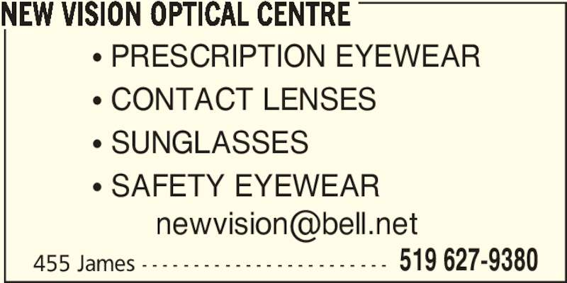 ad New Vision Optical Centre