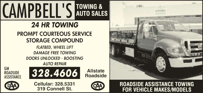 Campbell S Towing Amp Auto Sales Woodstock Nb 319