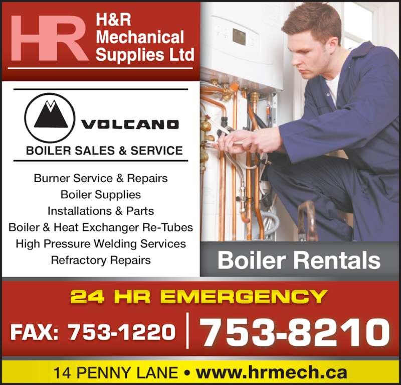 H R Mechanical Newfoundland H & R Mechanical S...