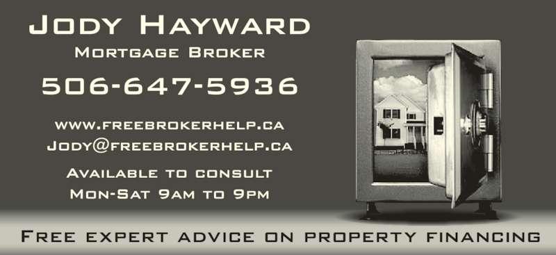 Jody Hayward-Nason (506-647-5936) - Display Ad -