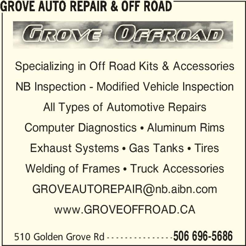 ad Grove Auto Repair & Off Road