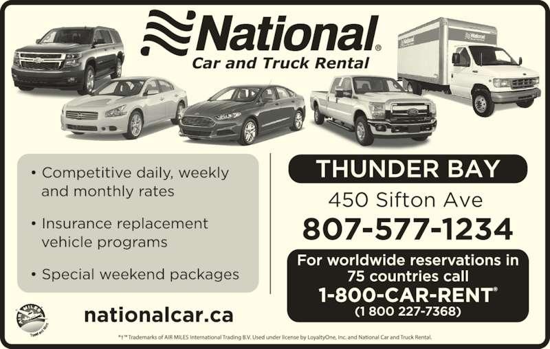 National Car Rental Quebec