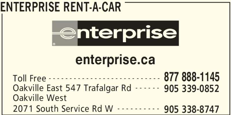 Call Enterprise Rent A Car Victoria
