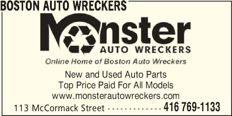 ad Boston Auto Wreckers