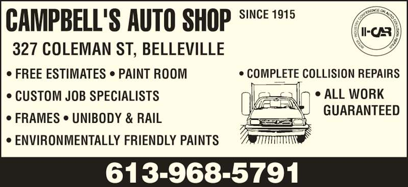 Auto body paint shop scarborough 13