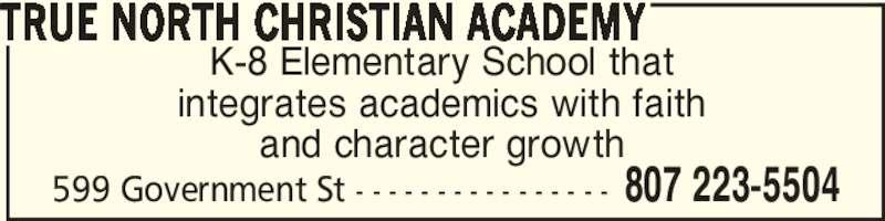 Dryden Full Gospel Church & True North Christian Academy ...