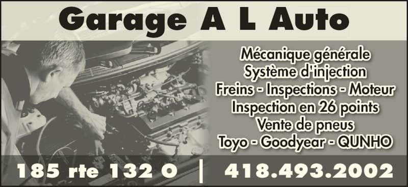 Garage a l auto saint andr de kamouraska qc 185 132 for Garage ad sainte foy de peyroliere