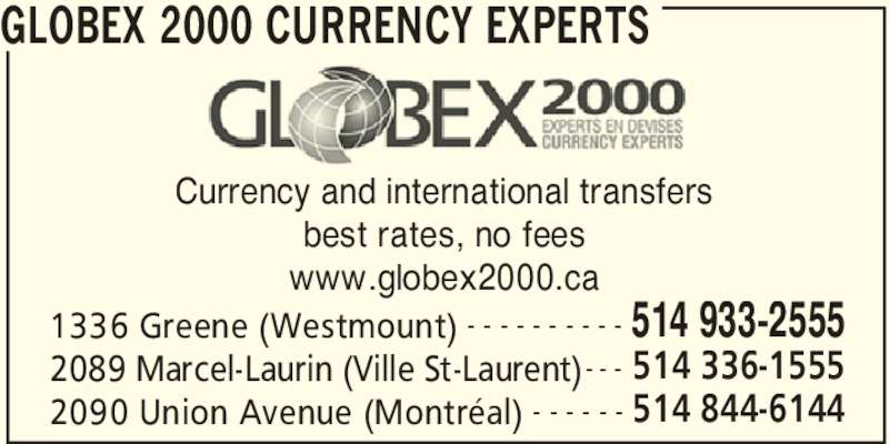 ad Globex 2000 - Currency Experts
