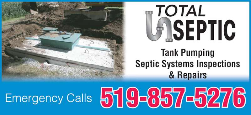 Total Septic Opening Hours Grand Bend On