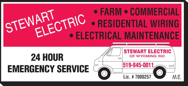 Stewart electric wyoming on 513 front st canpages for 24 hour tanning salon near me