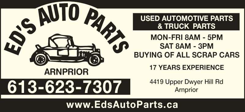 ad Ed's Auto Parts Arnprior