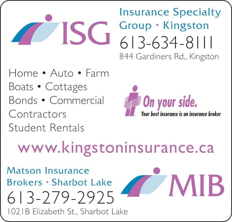 Insurance Brokers Kingston