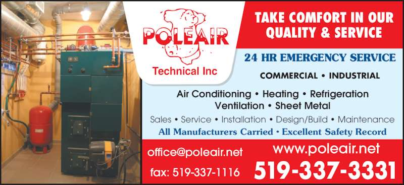 Poleair technical inc sarnia on 759 evett st canpages for 24 hour tanning salon near me