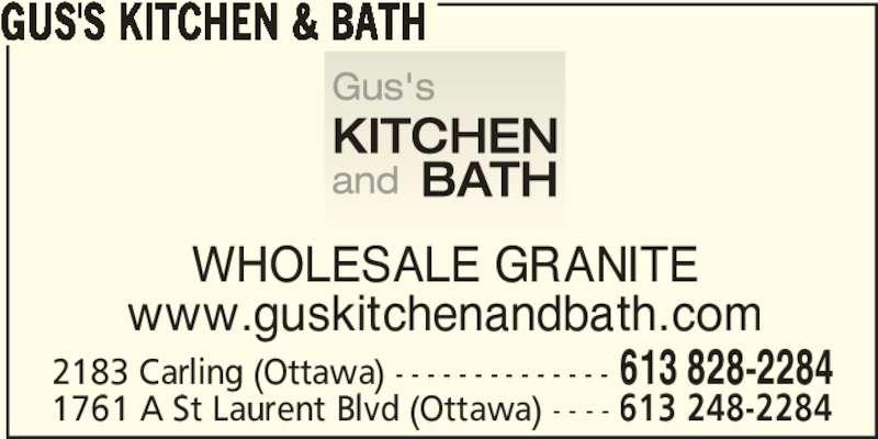 ad Gus's Kitchen & Bath