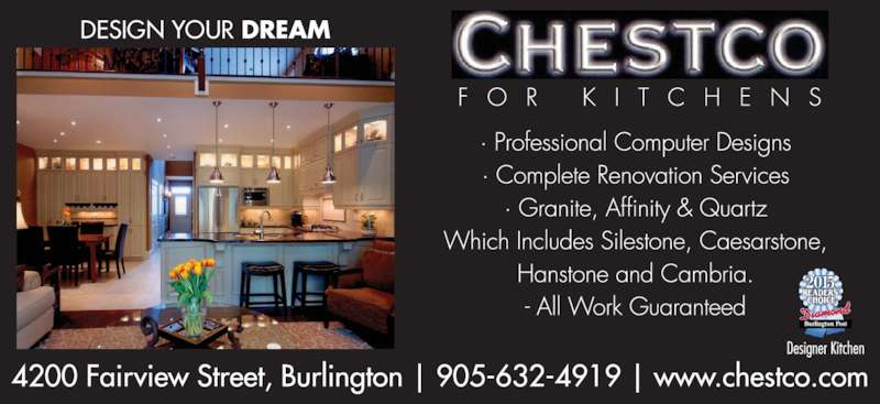 Chestco Kitchens Reviews
