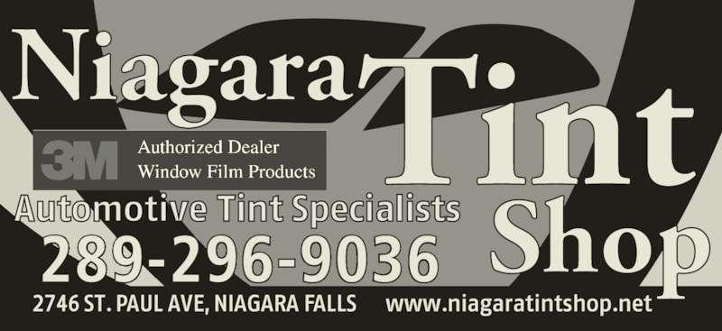 Niagara Tint Shop (289-296-9036) - Display Ad - 289-296-9036