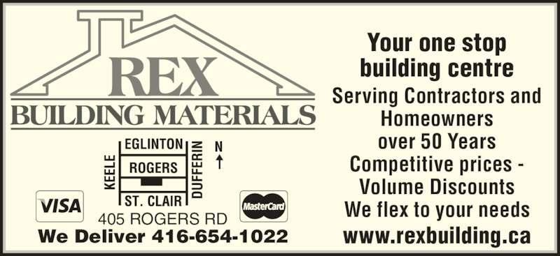 ad Rex Building Materials