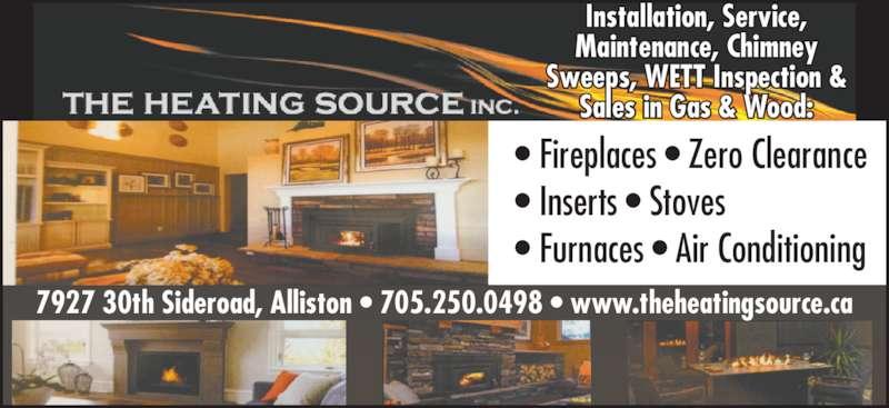 The Heating Source Inc Alliston On 7927 30th Sideroad